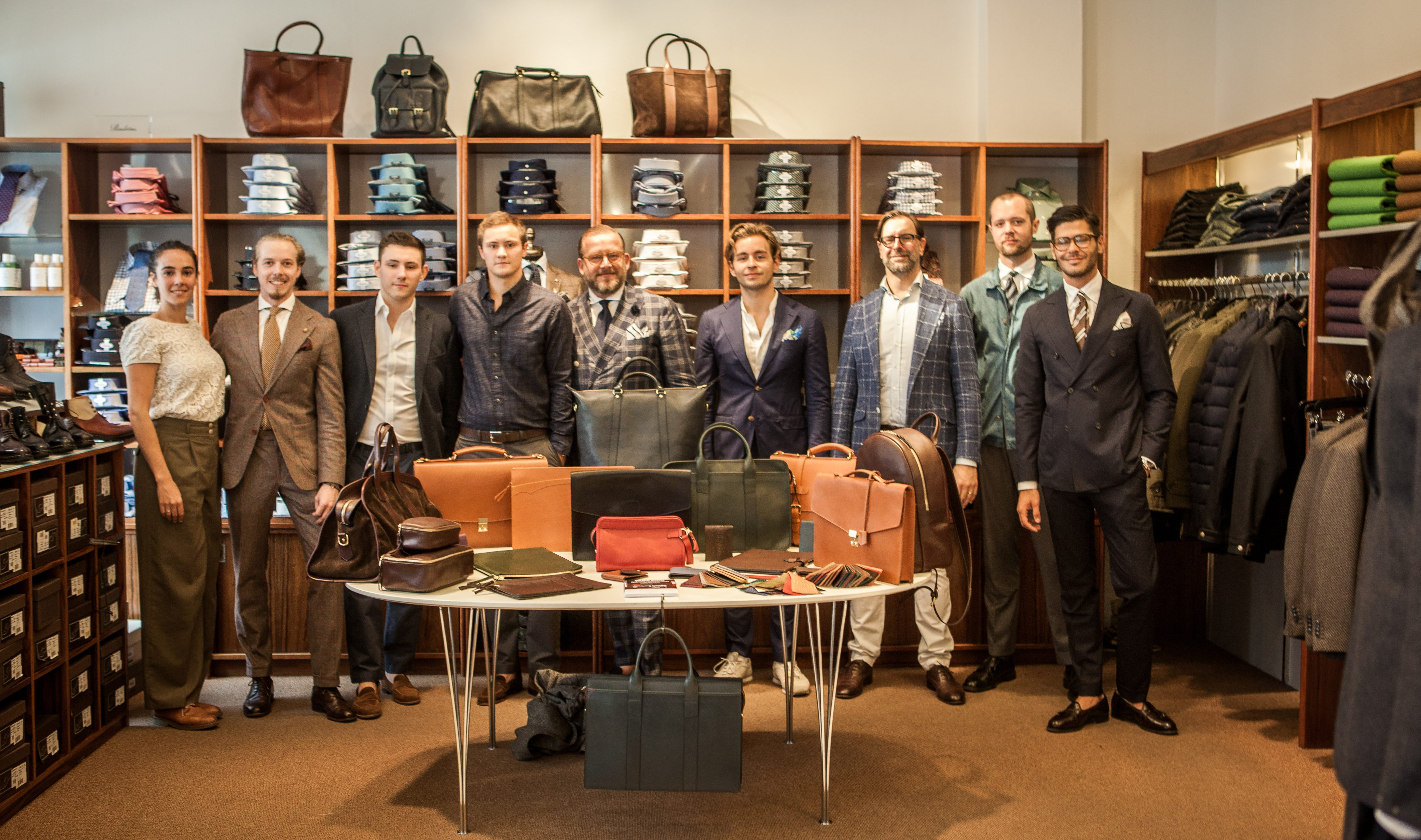 Report from Engelska Herr's Leather Trunk Show