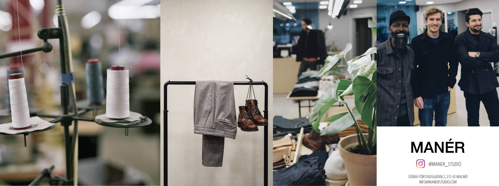 Manér Studio – Bespoke Jeans made in Malmö