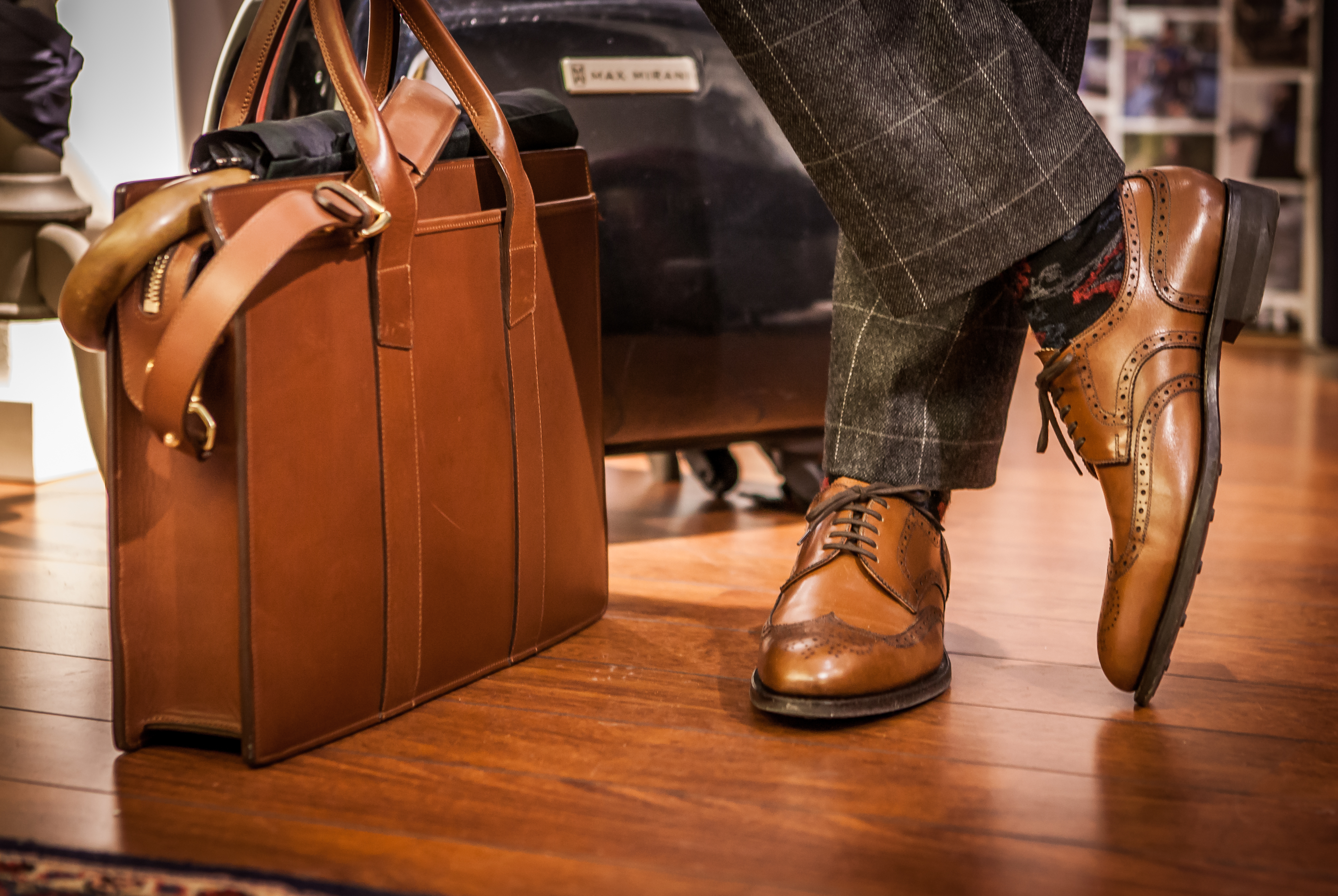 Bespoke from Vass Shoes in Budapest