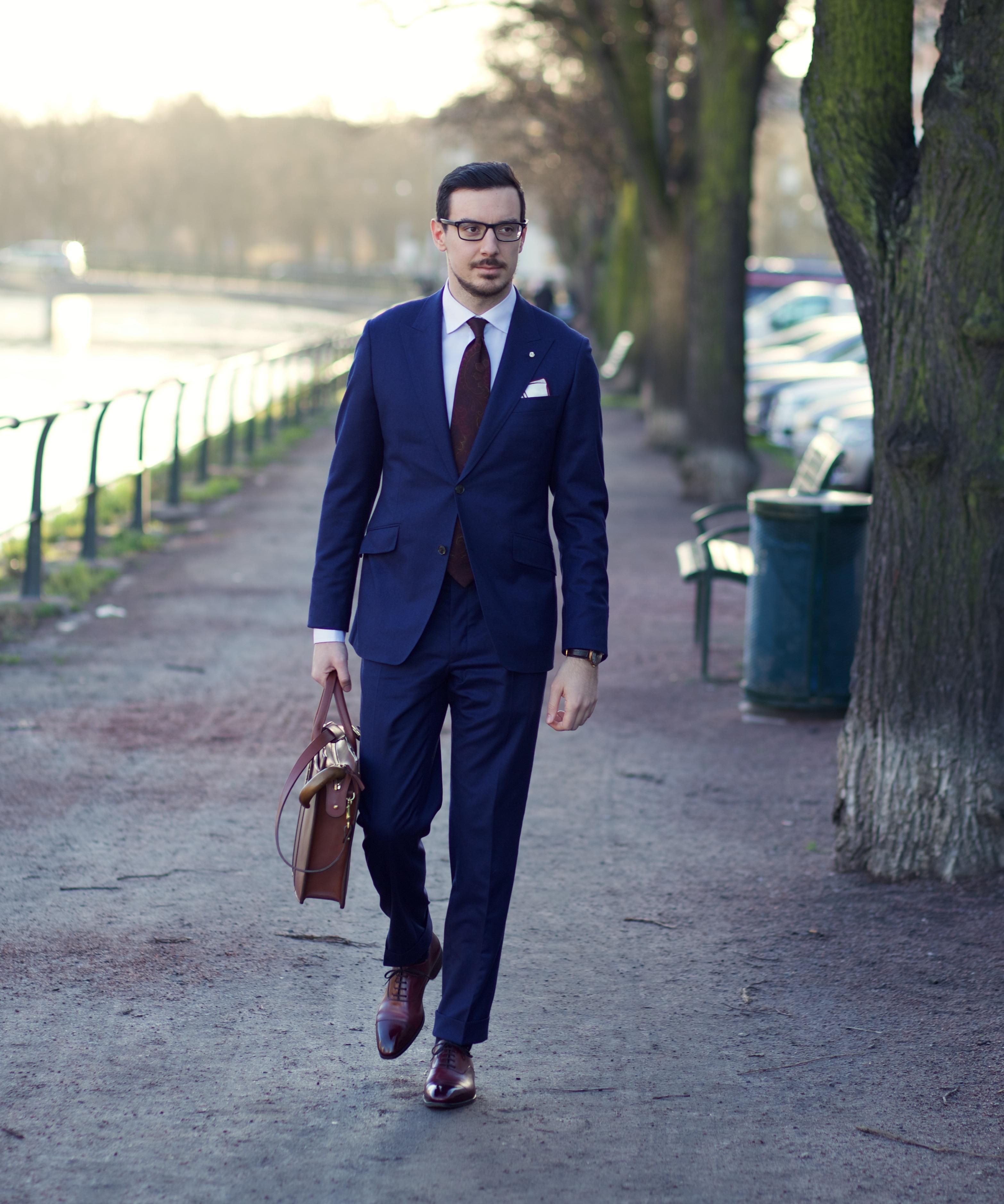 Lookbook: Blue Flannel