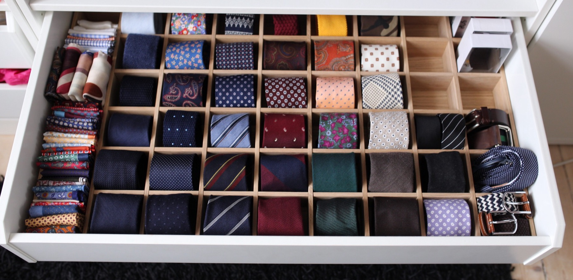Tie Storage – Tip of the week