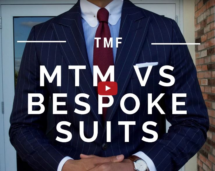 Video of the week – Difference Between Made to Measure and Bespoke Suits